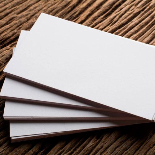 Визитки на бумаге